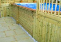 Deck and plunge pool, Bristol