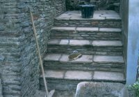 Stone steps and slabs, Bristol
